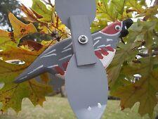 Quail Mini Whirligigs Whirligig Windmill Yard Art Hand made from wood
