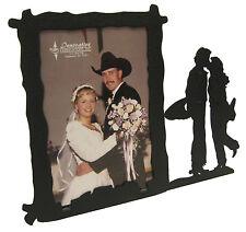 """Western Cowboy Wedding Picture Frame 3.5""""x5"""" - 3""""x5"""" V"""