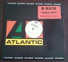 "B Rich - WHOA NOW 12"" promo vinyl single NM/M Atlantic records"