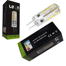 10x G4 LED Under Cabinet Lights Lightbulb Desk Lamp 12v AC DC 1.5w 3000k & 6000k