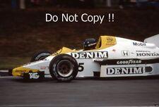 Jacques Laffite Williams FW09B British Grand Prix 1984 Photograph