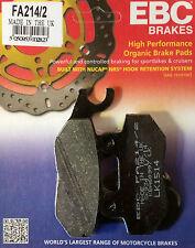 EBC/FA214/2 Brake Pads (Rear) - Triumph Tiger Explorer 1200, Speed Triple 1050