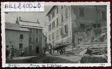 Beuil les Launes . Alpes-Maritimes . photo ancienne . 1947
