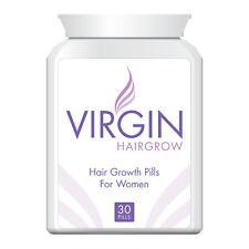 VIRGIN FOR WOMEN HAIR LOSS PILLS TABLET GROW THICKER FULLER HEAD OF HAIR