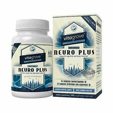Brain Pill Nootropic - Better Mood, Cognition, Memory, Focus, Mental Clarity 60