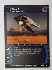 Star Wars TCG - R&S -  Slave I (F) 28/105 NM/Mint