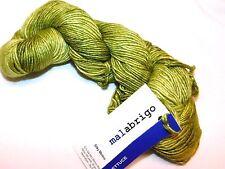 LETTUCE Green 150yd Skein Malabrigo SILKY MERINO Wool & Silk x-SOFT LUXURY YARN