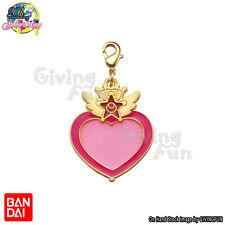 BANDAI Sailor Moon Die-cast Metal Charm Keychain Key Ring - Chibi Moon Compact