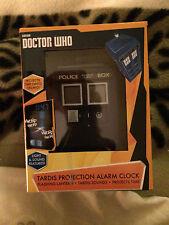 Doctor Who Oficial Tardis Reloj Despertador De Proyección