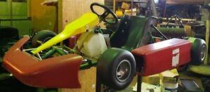 TONY KART WITH PARILLA JICA 2 STROKE ENGINE 100CC. COMPLETE KART!!!