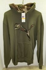 NEW Puma Camo Cat Fleece Hoodie - MSRP $60 - Size Small