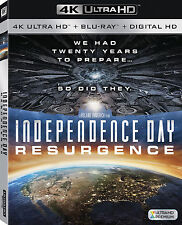 INDEPENDENCE DAY : RESURGENCE (4K ULTRA HD Atmos)- Blu Ray -  Region free