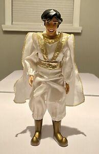 "Disney Store Prince Aladdin as Prince Ali 12"" Classic Doll Toy"