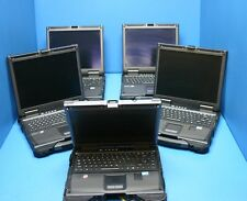 LOT OF 5 GETAC INTEL i7 2.0GHz 4GB RAM  B300 TOUGHBOOK LAPTOP!! MISSING PARTS!!