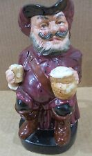 "Royal Doulton Large 8"" Toby Jug/Mug Character Sir John Falstaff Pitcher England"