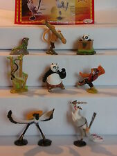 KPS - Figuren > Kung Fu Panda 2 - Kinder Joy  2011 < (D) + alle 8 BPZ