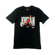 Nike Air Jordan Jumpman Logo Tee Mens T-Shirt Black Multi Size Casual Sportswear