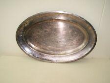 grande vecchio Vassoio argento placcato,Fruttiera ABS 120 Conchiglia d'argento