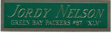 JORDY NELSON GREEN BAY PACKERS NAMEPLATE FOR AUTOGRAPHED SIGNED FOOTBALL JERSEY