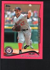 GIO GONZALEZ 2014 TOPPS MINI #523 PINK PARALLEL NATIONALS SP #20/25