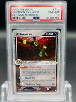PSA 8 Umbreon 112/115 Ex Unseen Forces Set Holo rare Pokemon Card
