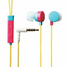 Elecom 11217 Stereo Headset Kopfhörer In-Ear Musik Smartphone MP3 Player bunt