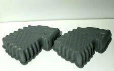 New listing Lot of 2 Game of Thrones Stark Direwolf Sigil Silicone Cake Mold Pan Out-of-Box