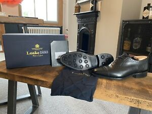 Loake Strand Brogue Shoes with NEW DAINITE SOLE Size 9.5