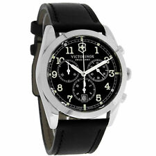Victorinox Swiss Army Infantry Black chrono Quartz Chronograph Watch 241588