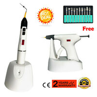 Wireless Dental Endodontic Obturation System Gutta Percha Pen Gun Bar Tips FDA