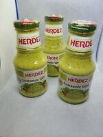Lot of 3 Herdez Guacamole Salsa, Mild 8.5 oz Each GS3