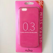 MUY Cubierta Delgada Fucsia para Apple iPhone 6 PLUS FUNDA PROTECTORA 0.3