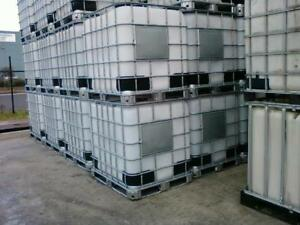 1000ltr IBC water tanks FOOD GRADE,STEAM CLEANED.10ml Free Delivery From S9 5AB