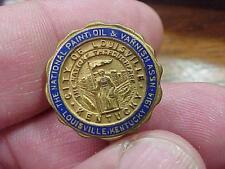 The National Paint Oil and Varnish Fraternal Trade Union Screwback Pin (16F1)