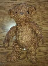 Saks Department Store Brown Teddy Bear Stuffed Animal Plush Toy