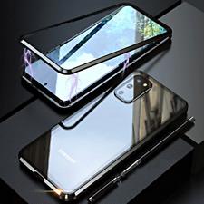 COVER per Samsung Galaxy S20 FE CUSTODIA MAGNETICA 360° DOPPIO VETRO TEMPERATO