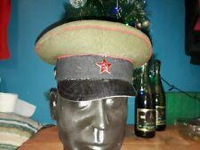 Original uniform service cap Hat Badge Vintage Sovie USSR 1950s