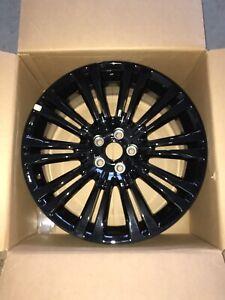 """Genuine Mopar, Chrysler 300 20"""" 5x115 GLOSS BLACK Rims 82212498"""