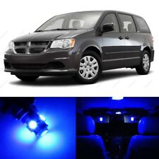 17 x Blue LED Interior Light Package For 2008 - 2016 Dodge Caravan + PRY TOOL