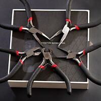 """5pcs 5"""" PLIER JEWELERS PLIERS SET JEWELRY MAKING BEADING WIRE WRAPPING HOBBY US"""