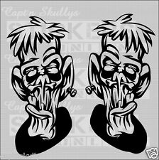 FRANINSTIEN DECAL X2 210x105mm each decal Captn Skullys Stickers Online MPN 1272