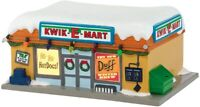 "NEW open-box Department 56 The Simpsons Village ""KWIK-E-MART"" Lit Bldg RETIRED"