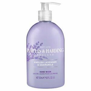 English Lavender and Chamomile Baylis & Harding Hand Soap 16.9 FL OZ