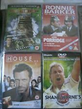 SET OF 4 DVDs SHANE WARD ~RONNIE BARKER ~DR WHO ~ HOUSE MD NEW IN BOXES