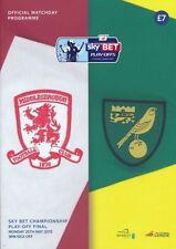 Away Team Championship Final Football Programmes