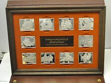 Norman Rockwell Fondest Memories Sterling Silver First Edition Ingot Proof Set