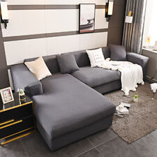 L Shape 1 2 3 4 Seaters Stretch Slipcovers Elastic Sofa Cover Couch Armchair