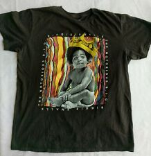 Authentic The Notorious B.I.G. Biggie Small Baby Crown Women Large T-shirt