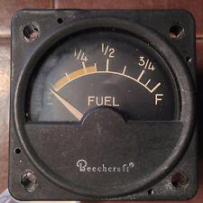 Beechcraft Fuel Quantity Indicator bpn 58-380051-11,  A-1158-11 Hickok,  sn 1166