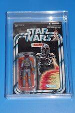 Star Wars Kenner Boba Fett Rocket firing TVC Collection OVP misb + acrílico Case